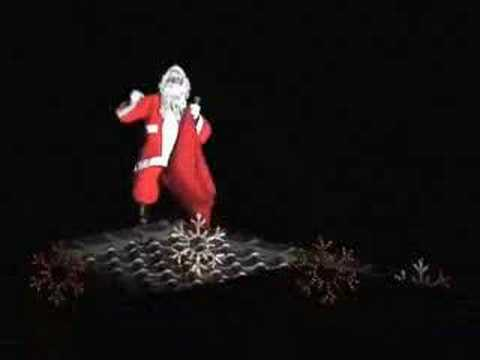 Santa Appears On Roof Youtube