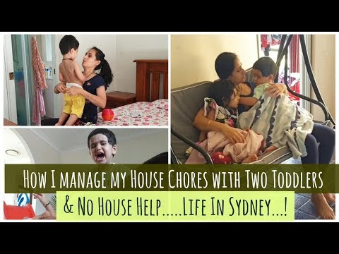 How Do I Manage My Daily Responsibilities with Two Toddlers | Indian SAHM | Manage Time Effectively