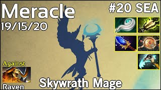 Support Meracle  Skywrath Mage - Dota 2  7.17