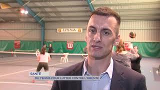 Santé : du tennis pour lutter contre l'obésité