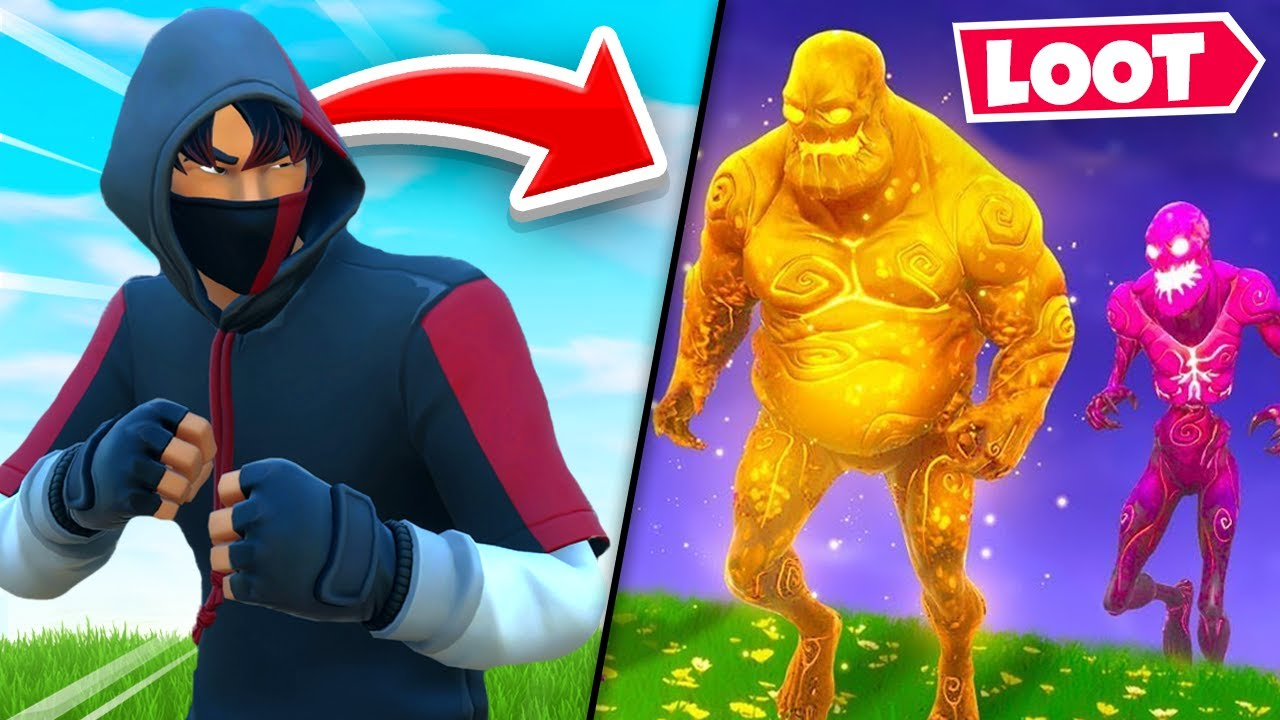 The ZOMBIE LOOT *ONLY* Challenge In Fortnite! thumbnail
