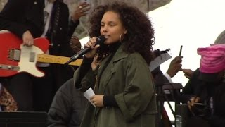 Alicia Keys  We will not be stepped on