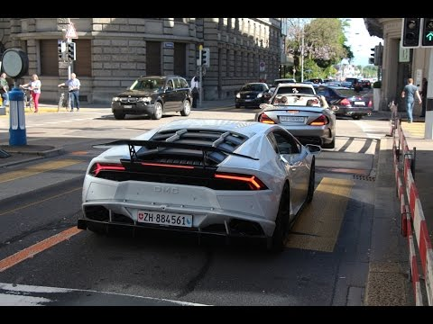 Supercar sounds Zurich May 2015