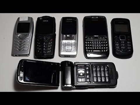 Nokia N93. Nokia E71. Nokia 5140i. Супер крутая посылка с крутыми ретро телефонами