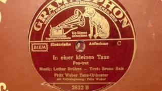 Fritz Weber - In einer kleinen Taxe