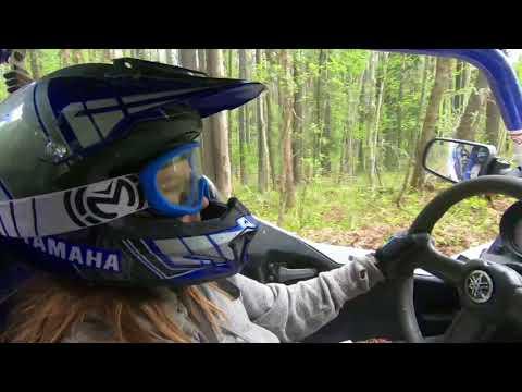 Julia Driving the YXZ 1000R