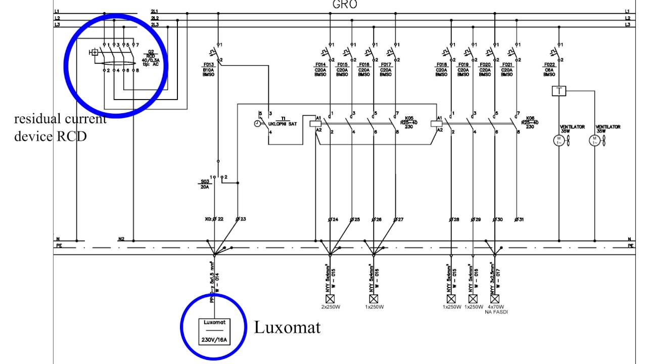 day night switch diagram