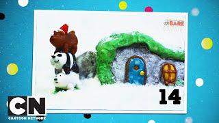 """Adventskalender   Tag 14   Mach dein eigenes """"We Bare Bears""""-Lebkuchenhaus   Cartoon Network"""