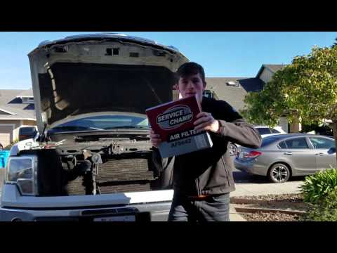 How to Replace 2009-14 Ford F-150 Air Filter Cheaply