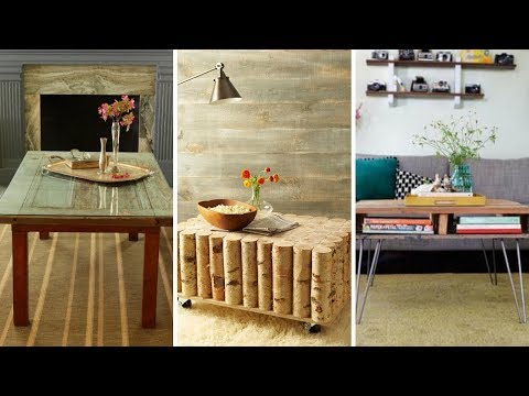 10 DIY Coffee Table on a Budget