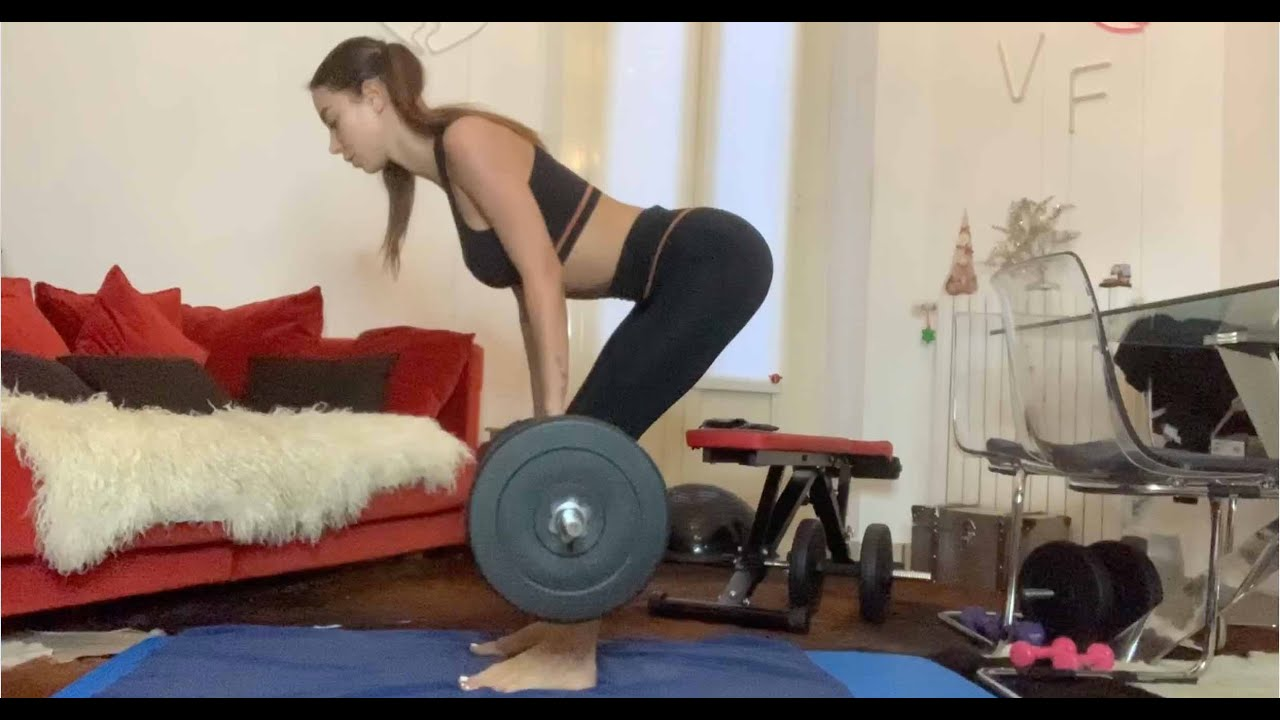 Valentina Fradegrada WORKOUT - 45 MINUTES WITH ME