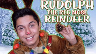 [ASMR] Rudolph the Red Nose Reindeer Role Play!