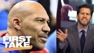 Will Cain rants about LaVar Ball, calls him 'delusional' and 'exploitative' | First Take | ESPN