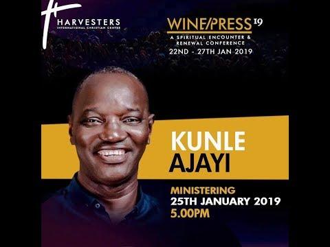 WINEPRESS 2019 | Worship with Pst Kunle Ajayi | Fri 25th Jan, 2019