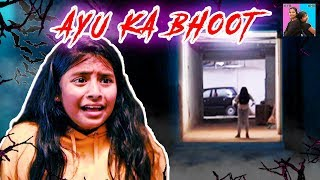 AYU KA BHOOT l Horror Stories l Moral Stories In Hindi l Ayu And Anu Twin Sisters
