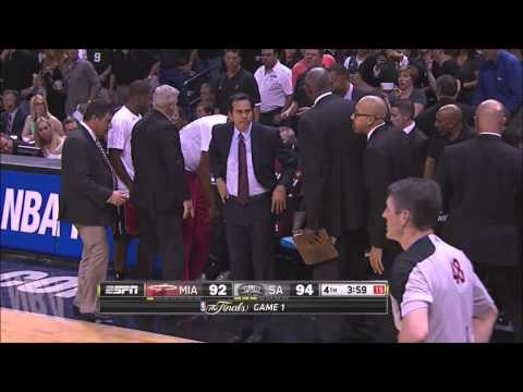 Lebron James' Cramp Game vs Scottie Pippen's Cramp Game