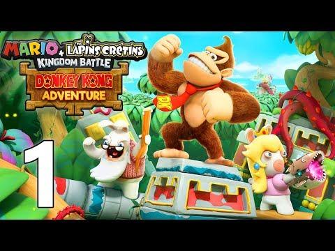 MARIO + LAPINS CRÉTINS FR | DLC Donkey Kong #1