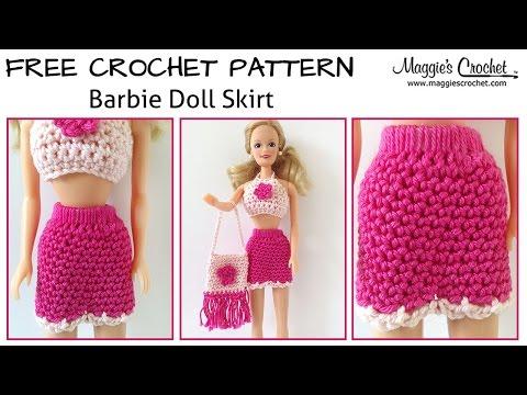 20 Free Crochet Barbie Clothes Pattern ⋆ DIY Crafts   360x480