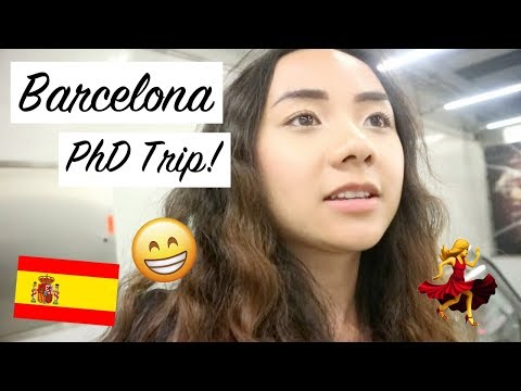 [VLOG] Barcelona PhD Trip! เที่ยวบาร์เซโลน่าและไปงาน conference! (ซับไทย)