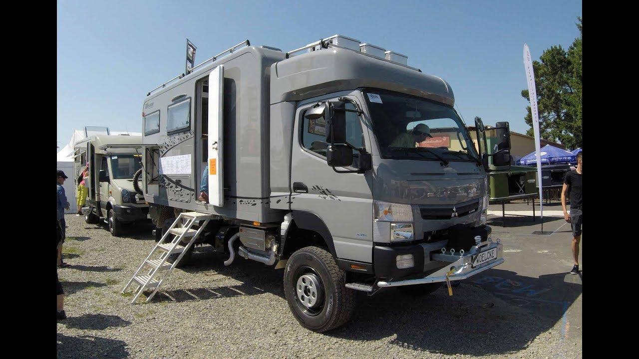 Mitsubishi Fuso Canter 6C180 Explorer grey colour camper 6C18