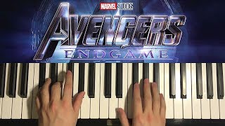 Baixar Avengers 4: Endgame - Trailer Music (Piano Tutorial Lesson)