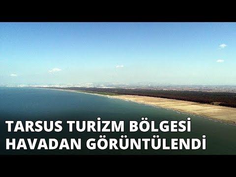 Tarsus turizm bölgesi havadan görüntülendi
