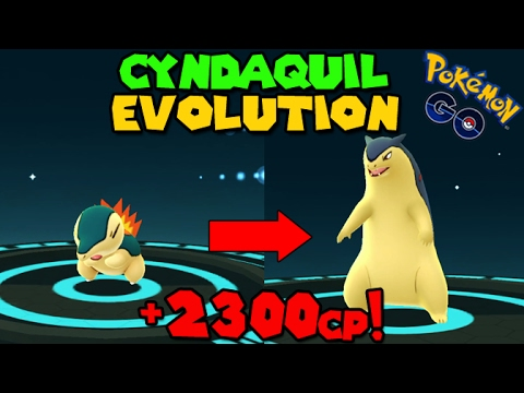 Evolving CYNDAQUIL to TYPHLOSION (Pokemon Go GEN 2 Evolution) from YouTube · Duration:  2 minutes 13 seconds