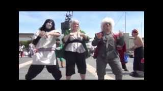 Naruto Cosplay UK Gentleman Music Video