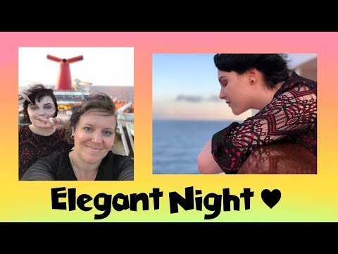Elegant Night Dinner & Ship | Carnival Paradise Cruise Vlog [ep6]