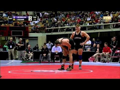 Wrestling - McMullan Big Ten Championship Highlights