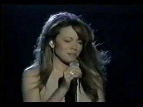 Mariah Carey   Open Arms MTV Studio 1996