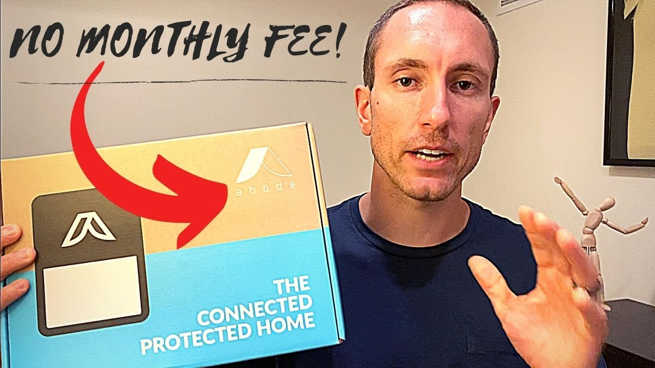 Diy Smart Home Security System Under 200 Abode Smart Security Kit No Monthly Fee Youtube