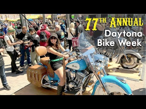 Bike Week Daytona Beach 2018 - Our GREATEST Moments - Florida Destination Travel Video