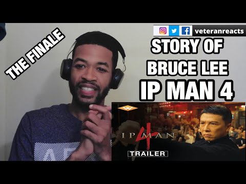 IP MAN 4 (2020) OFFICIAL US THEATRICAL TRAILER | DANNY CHAN AS BRUCE LEE | REACTION