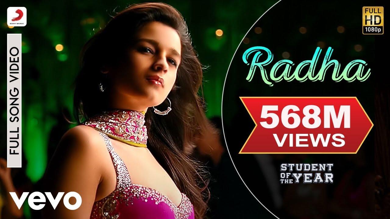Radha - SOTY | Alia Bhatt | Sidharth Malhotra | Varun Dhawan #1