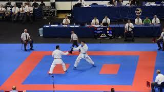 Azerbaijan - Denmark, First Round, Team Kumite, All Matches