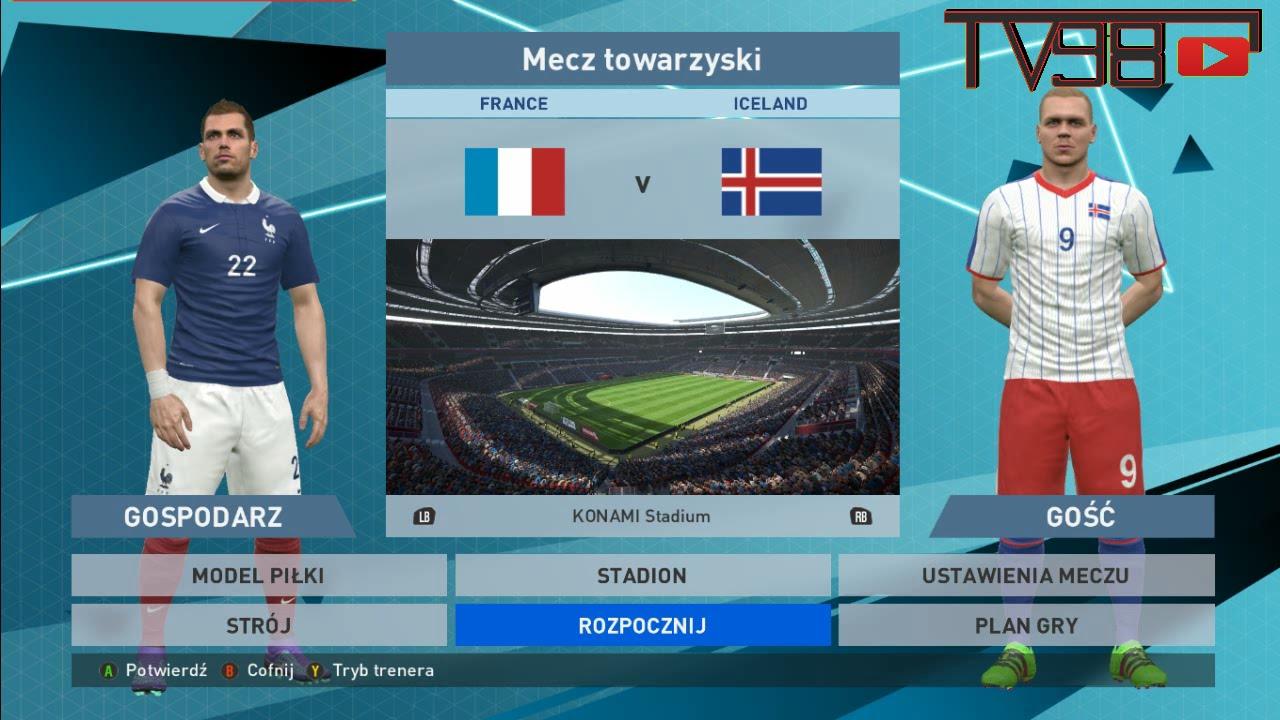 mecz francja islandia