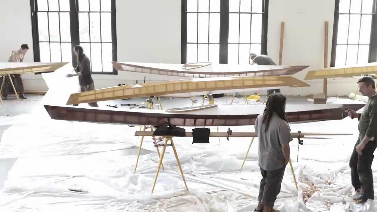 Skin on Frame Kayak Workshop, Old Rainier Brewery, Seawolf Kayak ...