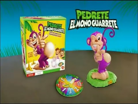 Pedrete El Mono Guarrete Anuncio De Juguetes De Bizak Youtube