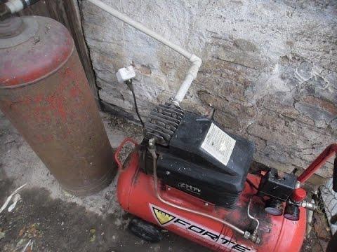 Вакуумный насос на 350л мин  из компресора