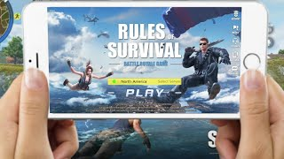 rules of survival high fps mode