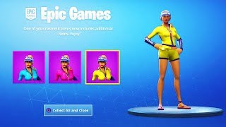 Die NEUE SEASON 5 Haut STYLES in Fortnite...