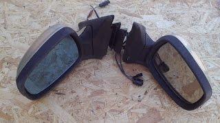 Снятие боковых зеркал на ГАЗ 31105