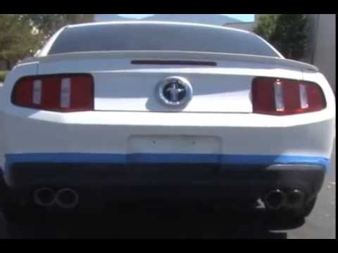 magnaflow exhaust systems ford mustang 2011 quad tip installation