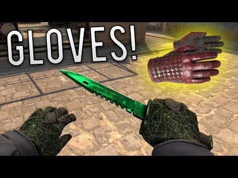 CS:GO - Best New Gloves Gameplay + HUGE Glove Skin Giveaway!