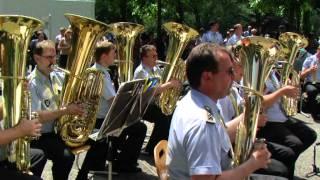 Lourdes : Heeresmusikkorps 2 (Kassel, musique militaire d'Allemagne)