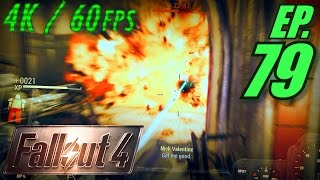 Fallout 4 Gameplay in 4K Ultra HD / 60fps, Part 79: Destroying the Courser (Let