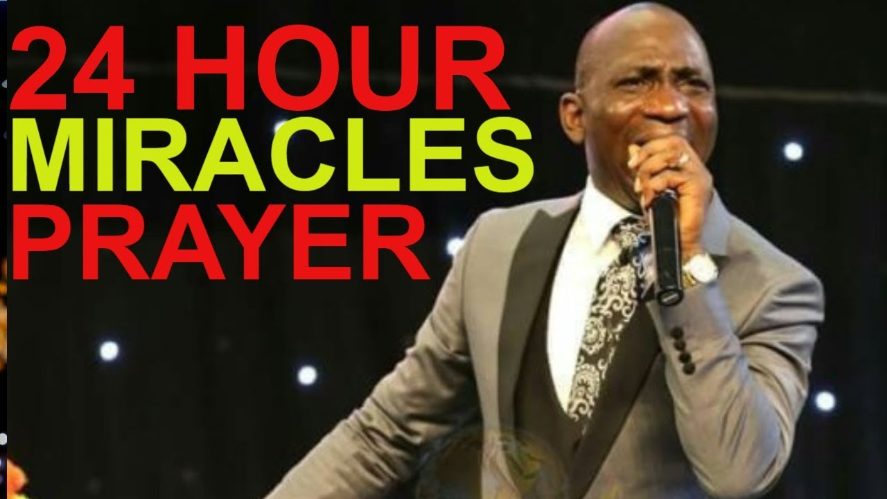 24 HOUR MIRACLE PROPHETIC DECLARATION DR PAUL ENENCHE