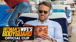 """The Hitman's Wife's Bodyguard (2021 Movie) Official Clip """"Officially on Sabbatical"""" - Ryan Reynolds"""