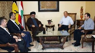 ماذا قال الرئيس اللبناني عن سلاح حزب الله بسوريا..ولماذا غضب صحفي مؤيد له على الهواء؟-تفاصيل